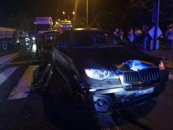 Nevşehir'de zincirleme kaza: 10 yaralı
