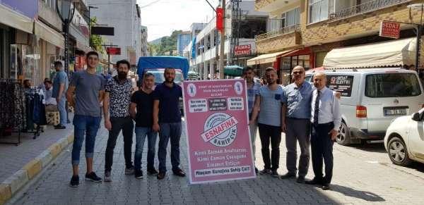 'Alaçam Esnafına Sahip Çık' kampanyası