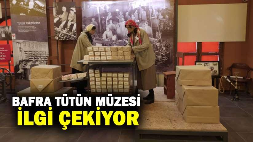 Bafra Tütün Müzesi İlgi Çekiyor