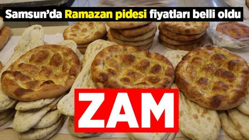 Samsunda Ramazan Pidesine zam!