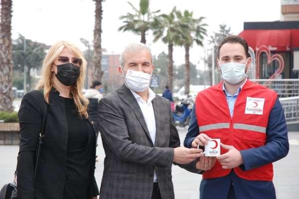 Atakum Genç Kızılaydan kan bağışı kampanyası