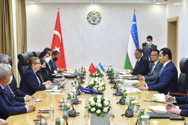 Bakan Pekcan: Özbekistan ile ikili ekonomik ve ticari ilişkilerimizi kazan-kazan modeliyle dengeli bir yapıda