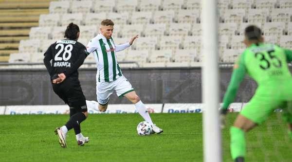 Bursaspor 11 maçta yine 13 puan topladı