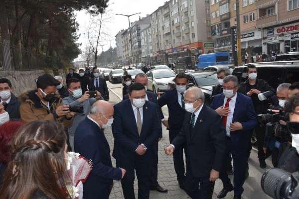 CHP Genel Başkanı Kemal Kılıçdaroğlu Boyabatta