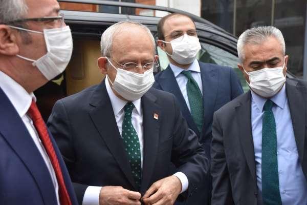 CHP Genel Başkanı Kılıçdaroğlu Sinopta
