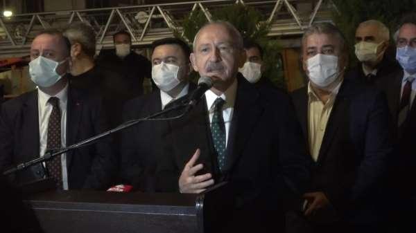 Kemal Kılıçdaroğlundan Ayancıklılara: Demokrasiyi getireceğiz, umudunuzu kaybetmeyin