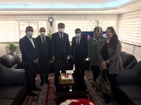 Şehit aileleri ve gazilerden Batman Emniyet Müdürü Kıraça Polis Haftası ziyareti