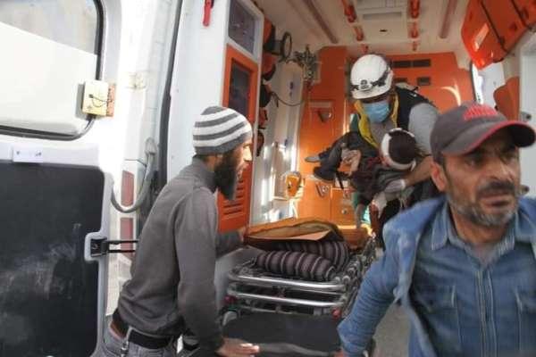 Suriyede sivil araca füzeli saldırı: 7 ölü, 3 yaralı