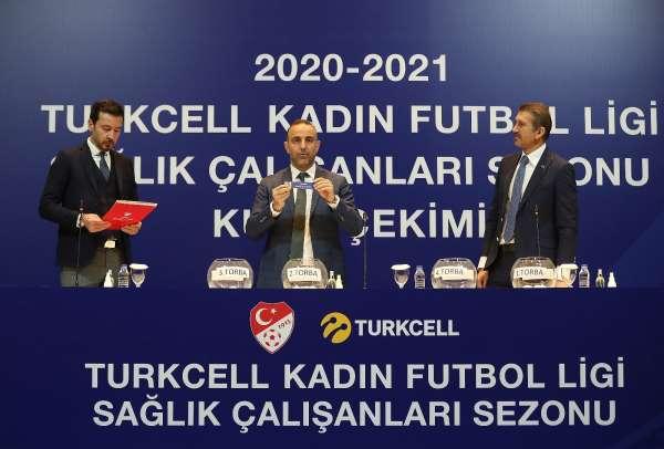 Turkcell Kadın Futbol Ligi Sağlık Çalışanları Sezonu fikstürü çekildi