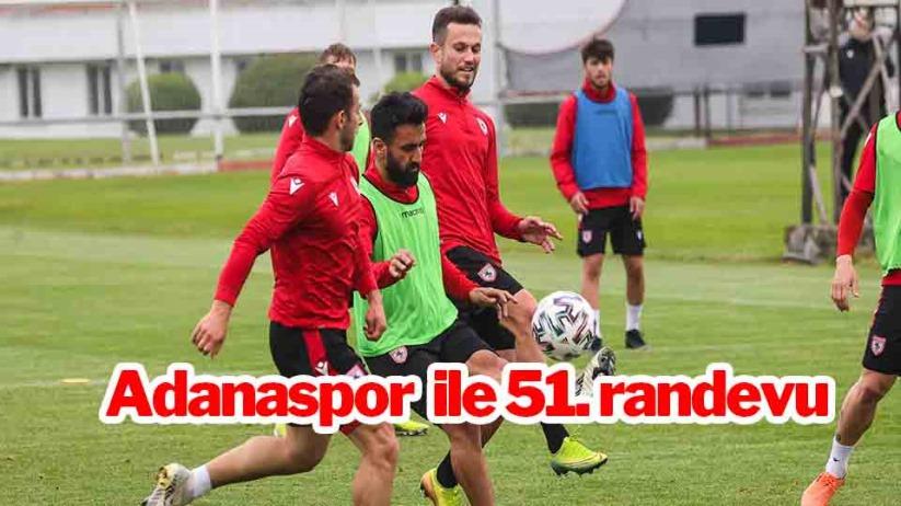 Samsunspor ile Adanaspor 51. randevuya çıkıyor
