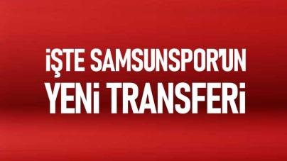 Samsunspor Hüseyin Öztürk'ü transfer etti