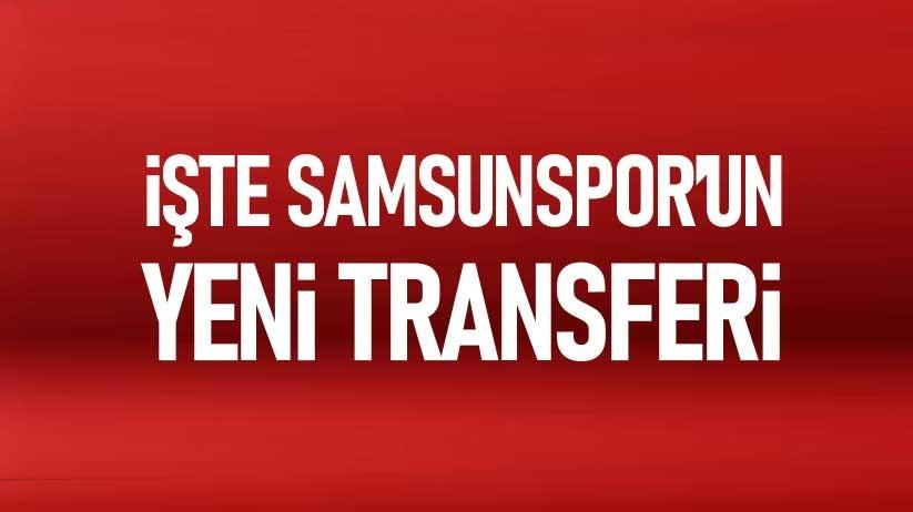 Samsunspor Hüseyin Öztürkü transfer etti
