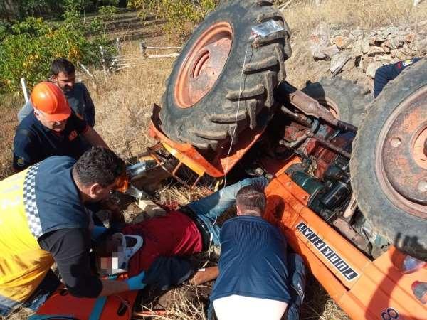Çorum'da 2 ayrı traktör kazası: 1 ölü, 1'i ağır 3 yaralı