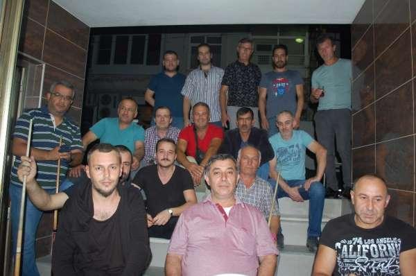 Malkara Bilardo şampiyonu Hakan Gül oldu