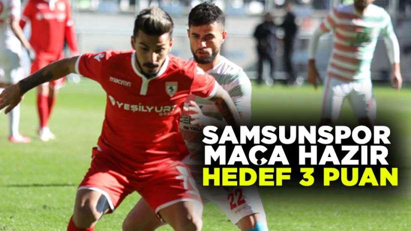 Samsunspor Maça Hazır