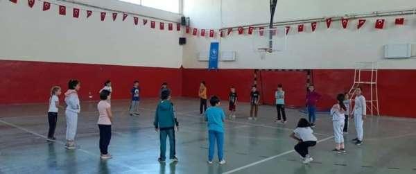 Yerköy'de sportif yetenek taraması eğitimleri devam ediyor
