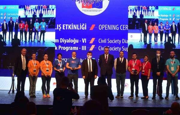 Bakan Yardımcısı Kaymakcı: Türkiyenin Avrupa Birliği sürecinin sivil toplum tarafından hızlandırılacağına in