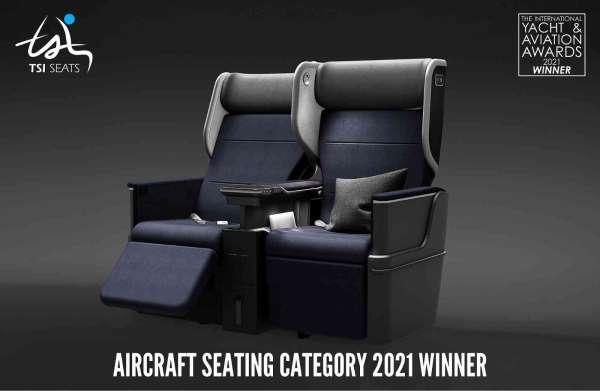 TSI Seatsin ROYALUX koltuğu en iyi tasarım ödülünü aldı