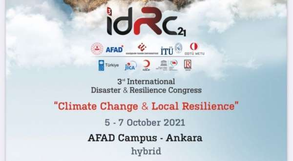 Uluslararası Afet ve Dirençlilik Kongresinde Anadolu Üniversitesi de yer aldı
