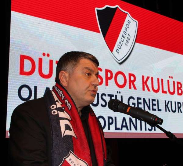 Düzcespor'un yeni başkanı Gökhan Kapoğlu oldu