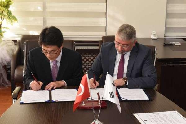 Gimhae ve Çorum Belediyeleri arasında işbirliği protokolü