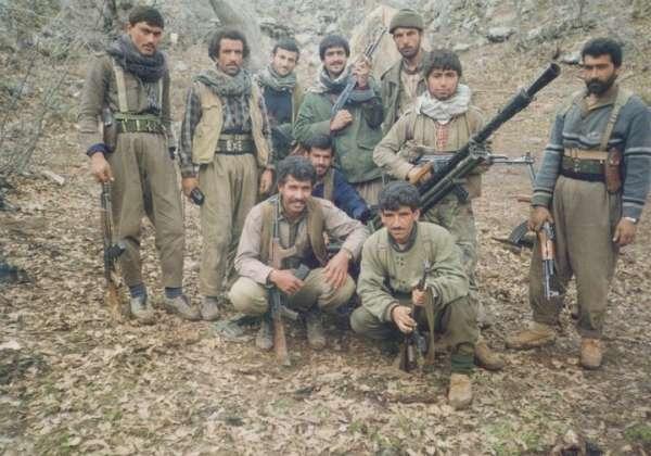 PYD elebaşı 'Mazlum Kobani' kod adlı terörist Ferhad Abdi Şahin PKK kampında