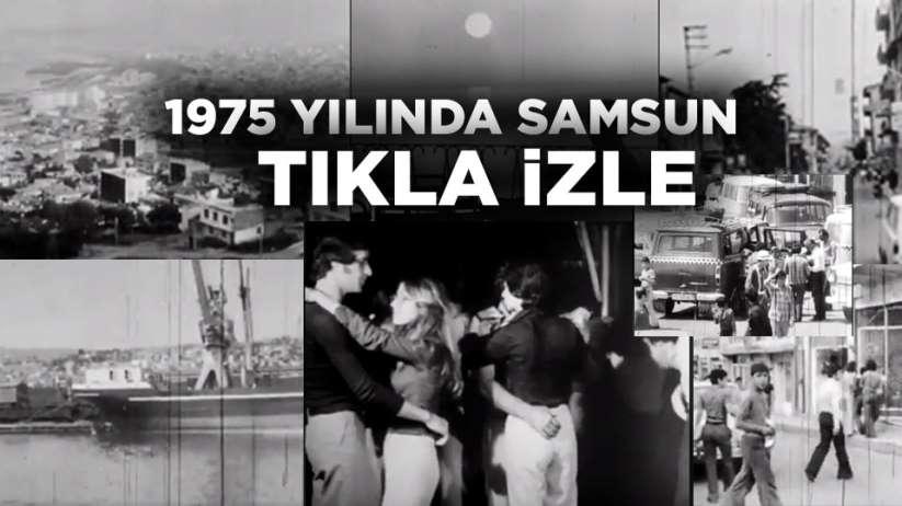 Samsun'un eski video görüntüleri(1975)
