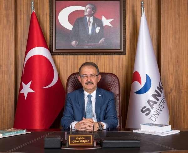 SANKO Üniversitesi Rektörü Dağlı'dan 10 Kasım mesajı