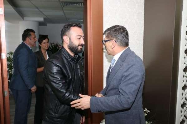 Yeni Malatyaspor'dan Ercan Dağdeviren'e hayırlı olsun ziyareti