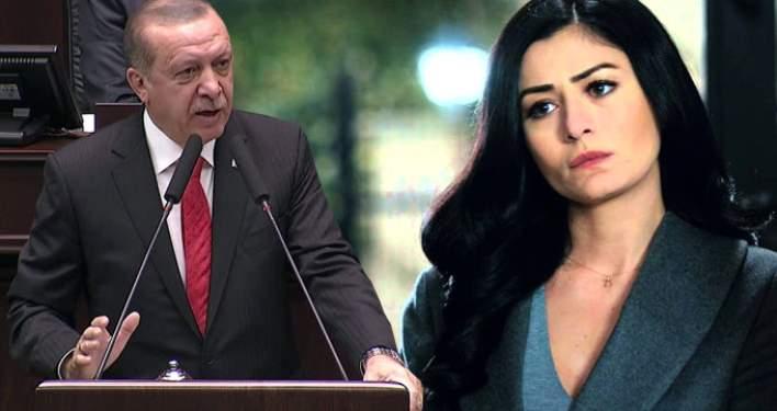 Erdoğan'dan Deniz Çakır'a Sert Sözler