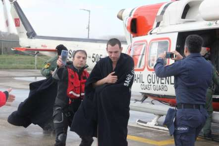 Batan gemide kaybolan 4 mürettebatı arama çalışmaları devam ediyor