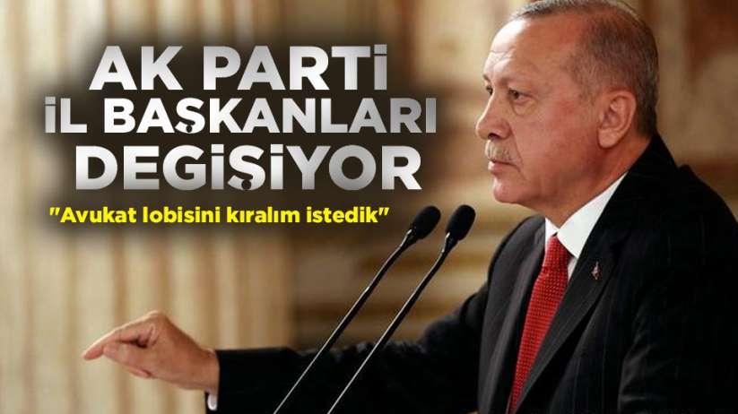 AK Parti il başkanları değişiyor