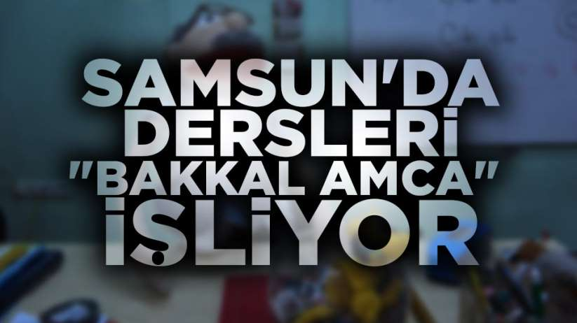 Samsun'da 'Kukla Bakkal Amca' ile müzik dersi