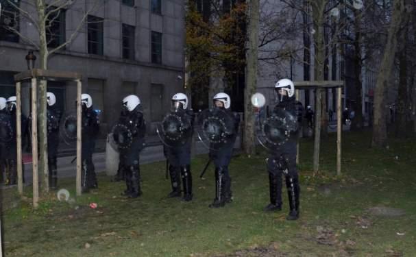 Belçika'da 'sarı yeleklilerin' eyleminde 450 gözaltı