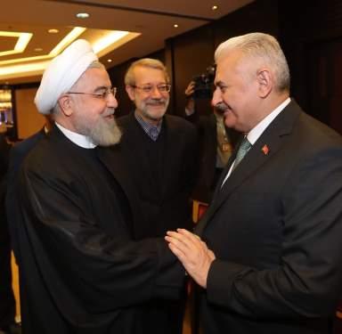 TBMM Başkanı Yıldırım İran Cumhurbaşkanı'nca Kabul Edildi