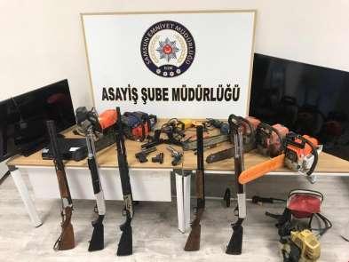 Samsun'da hırsızlık operasyonu: 11 gözaltı
