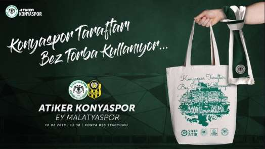 Atiker Konyaspor bez torba dağıtacak