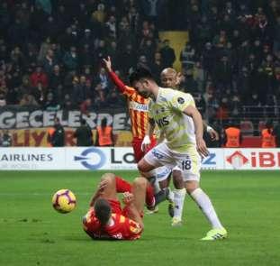 Spor Toto Süper Lig: İstikbal Mobilya Kayserispor: 1 - Fenerbahçe: 0 (Maç sonucu