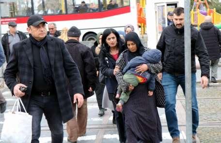 Samsun'da dilencilere göz açtırılmıyor