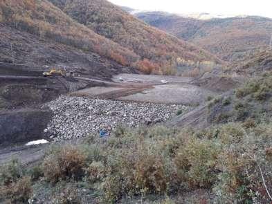 Kumluca Göleti'nin inşası sürüyor