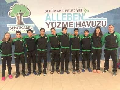Şehitkamilli milliler Edirne'de madalya için yarışacak