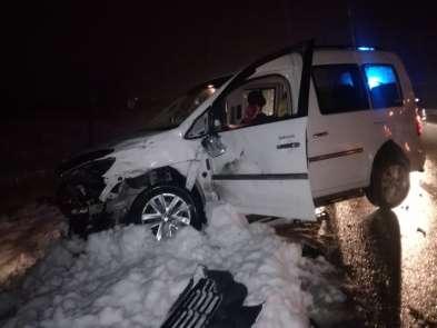 Akçadağ'da feci kaza: 5 yaralı