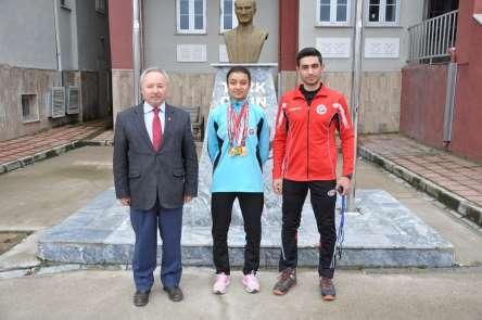 Genç atlet 3 yılda 5 kez Türkiye şampiyonu oldu