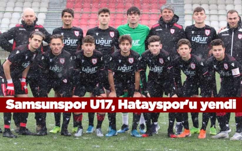 Samsunspor U17, Hatayspor'u yendi