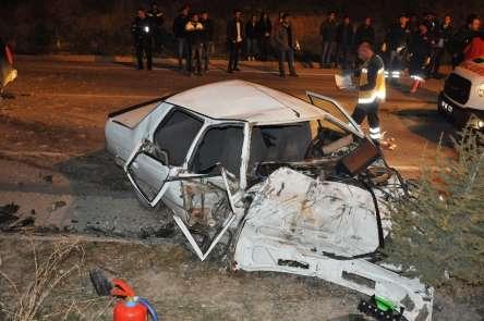 Nevşehir'de trafik kazası: 5 yaralı