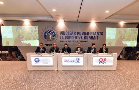 6. Uluslararası Nükleer Santraller Zirvesi'nde Akkuyu NGS anlatıldı