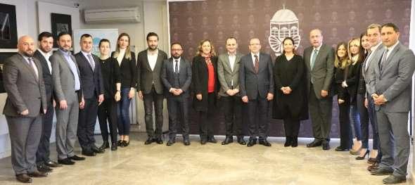 TOBB Bursa Kadın Girişimciler ve Genç Girişimciler İl İcra Komitesi görev dağılı