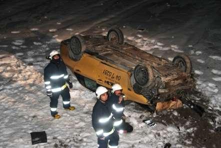 Muradiye'de trafik kazası: 2 yaralı