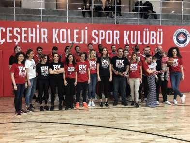 Bahçeşehir Koleji Basketbol Takımı'ndan 8 Mart Dünya Kadınlar Günü etkinliği