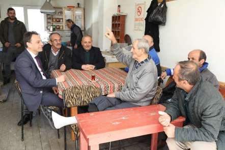 Cumhur İttifakı AK Parti Maçka Belediye Başkan adayı Koray Koçhan: 'İlk günkü aş